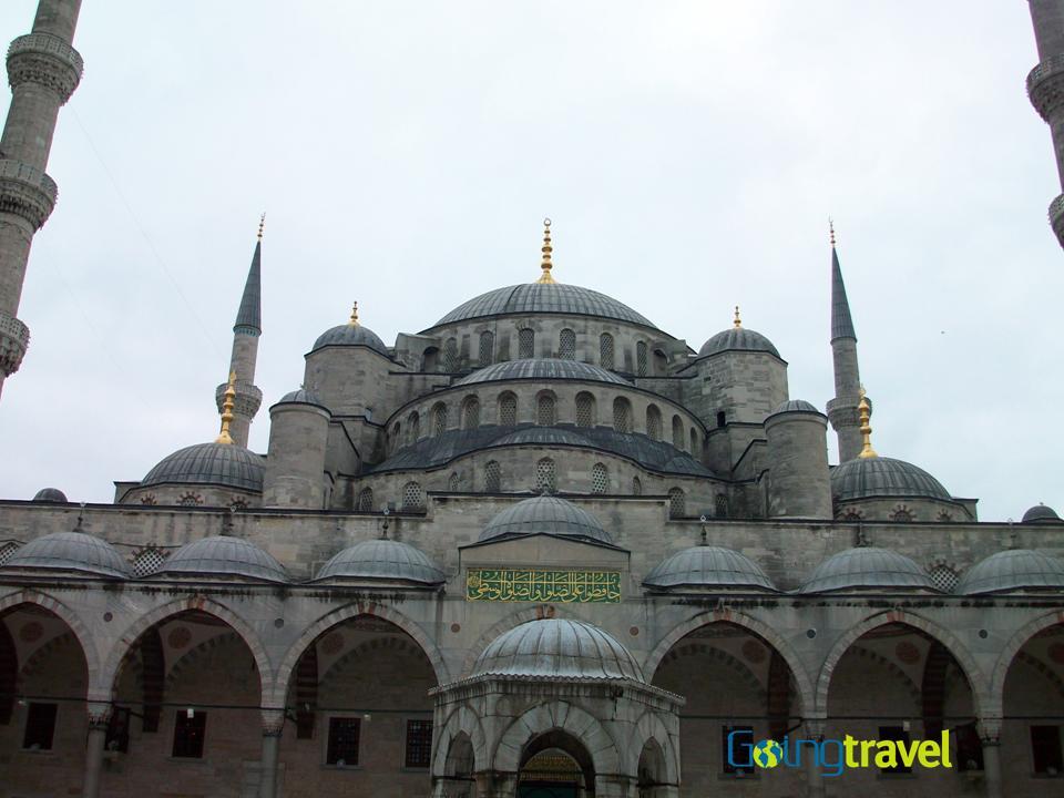 Santa Sofia en Istambul,Turquia con Chesca