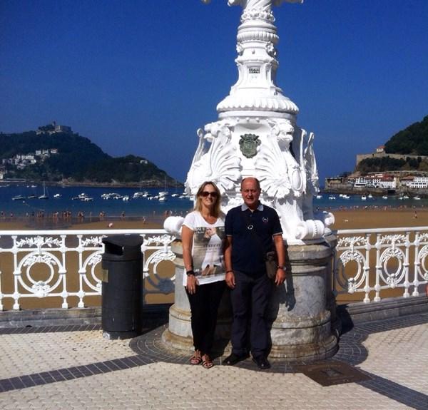 Ana y Jose por San Sebastián