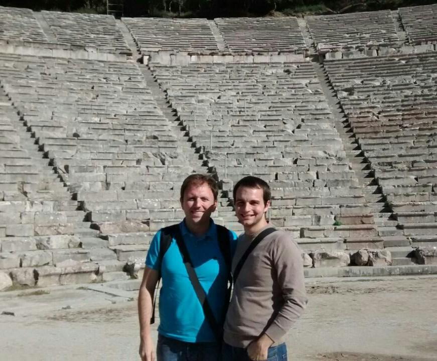 Manolo y Carlos, Teatro Epidauro (Grecia)