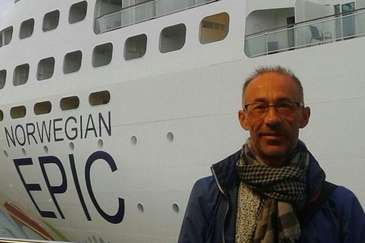 Enric, Crucero con Norwegian