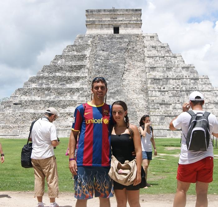 Nerea y Cristian, Riviera Maya (México)