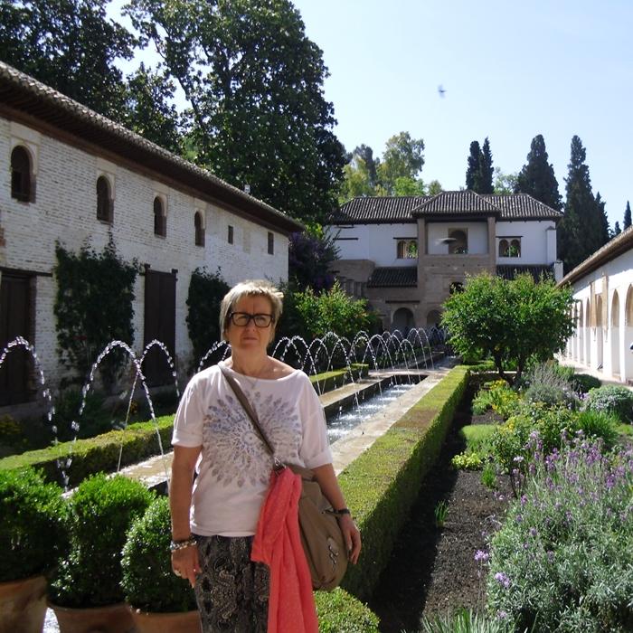 Pepita, Jardines del Generalife (Granada)