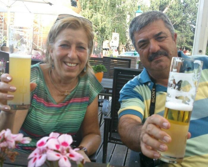 Neus y Enric por Viena