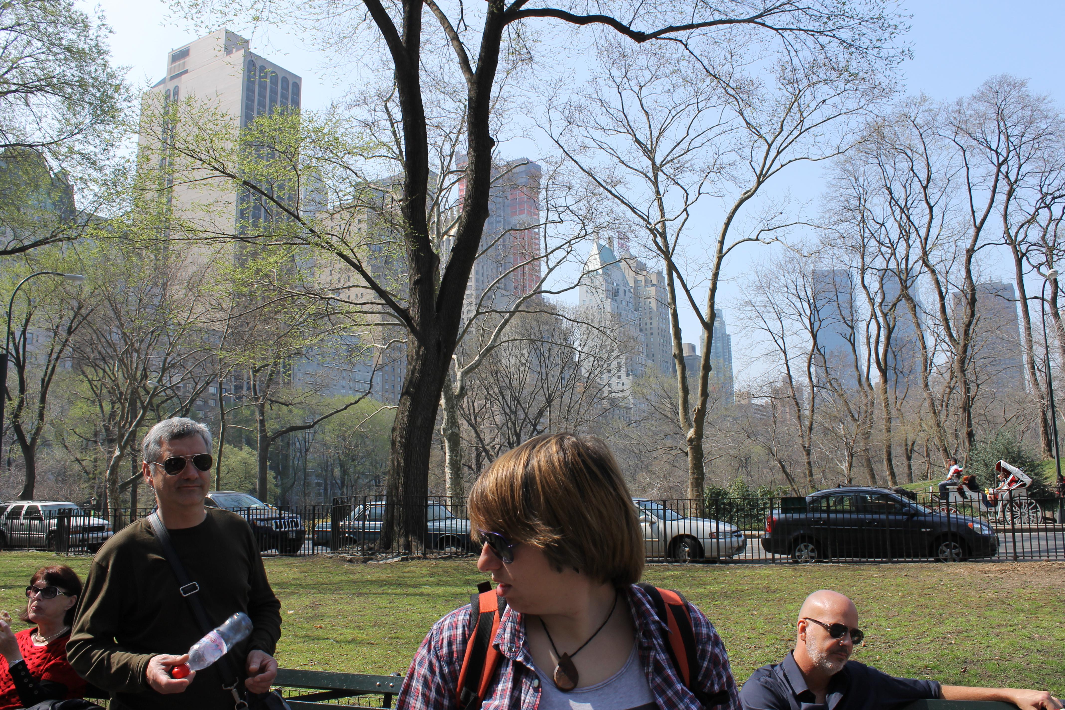 Sara y Emili por Central Park