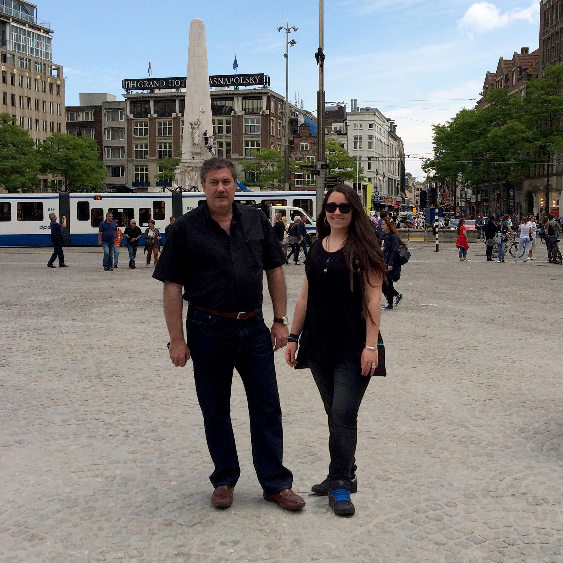 Jordi y Marta por Amsterdam