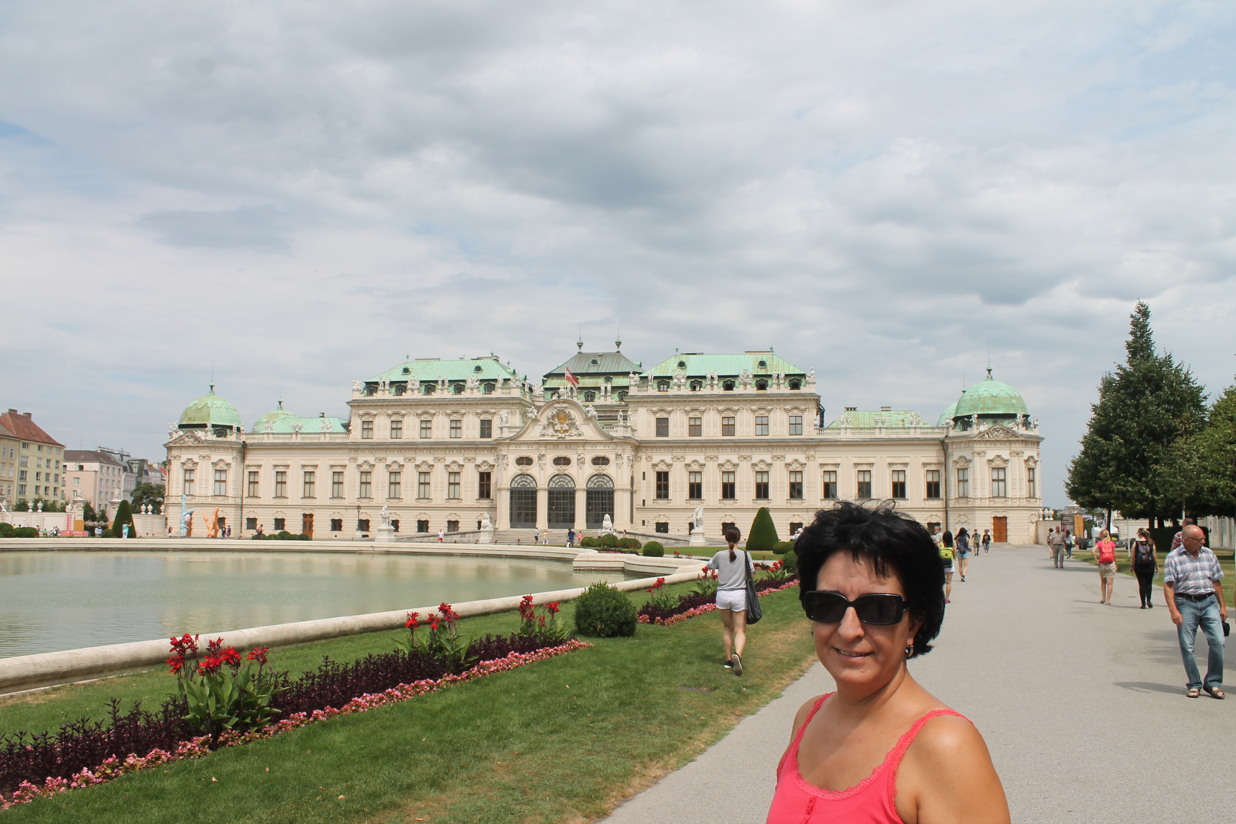 Mª José nos muestra el Palacio de Belvedere de Viena