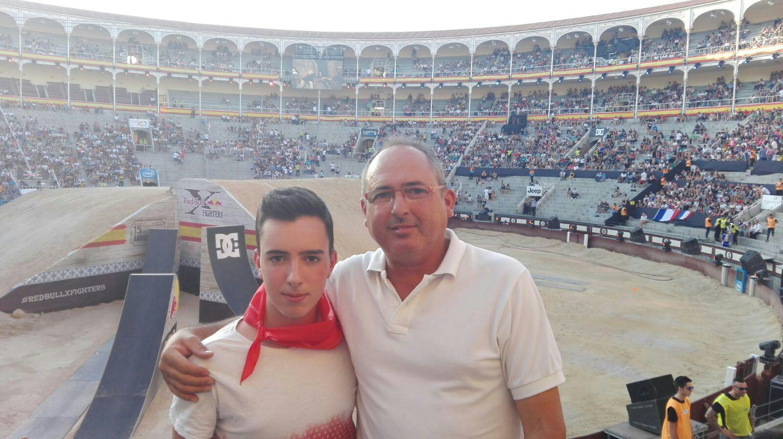 Eduard y Alberto en Las Ventas de Madrid