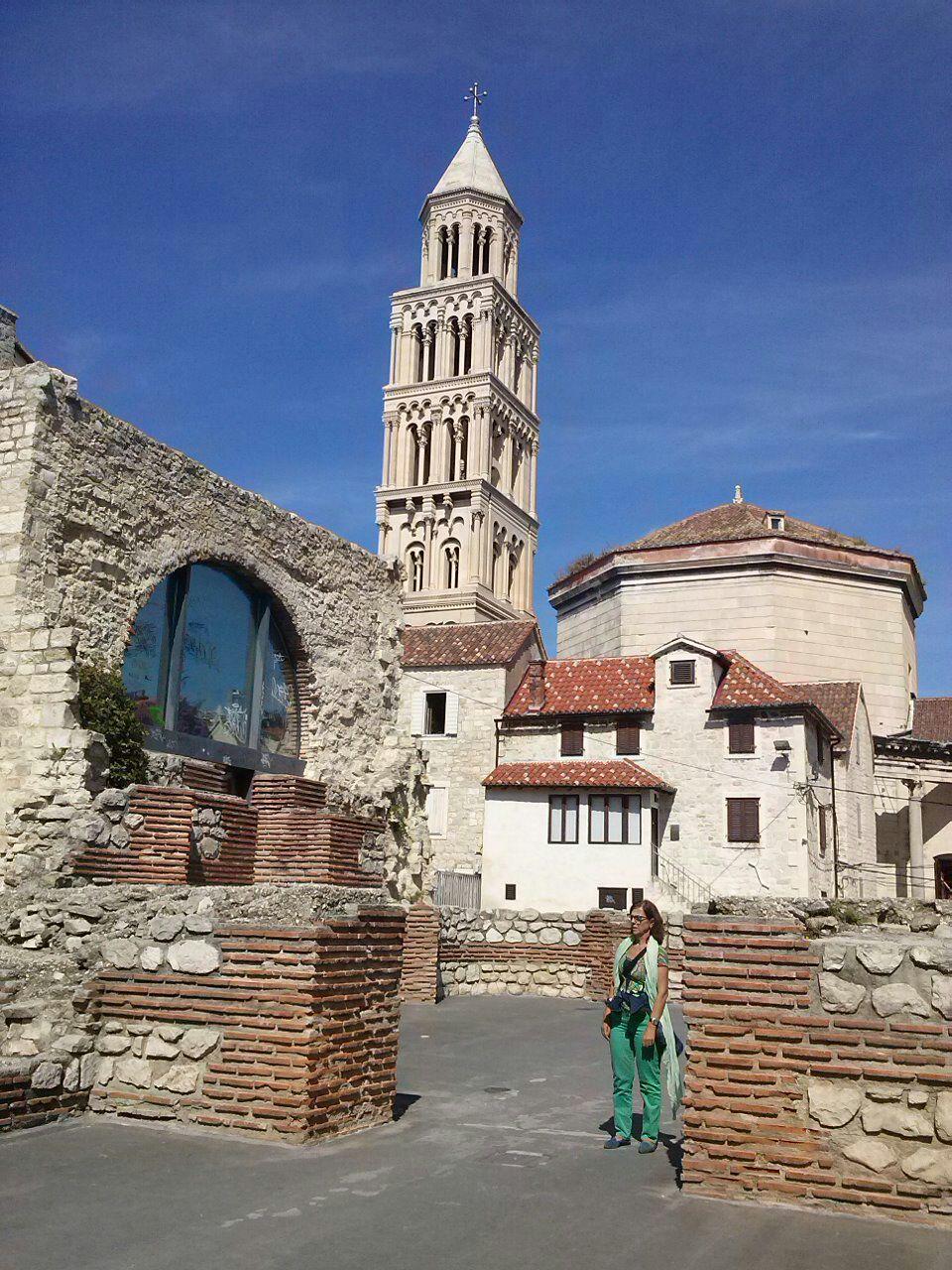Rosario en el Palacio Diocleciano en Splitz (Croacia)