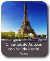 circuito de Viajes en Autocar con salidas desde PARIS