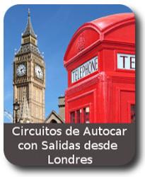 circuito de Viajes en Autocar con salidas desde LONDRES