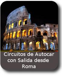 Oferta de circuitos de Viajescon salida desde ROMA