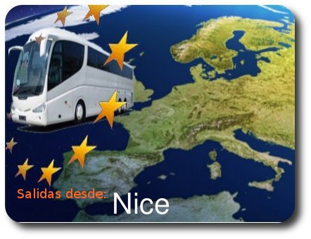 Circuitos con Salida desde Nice