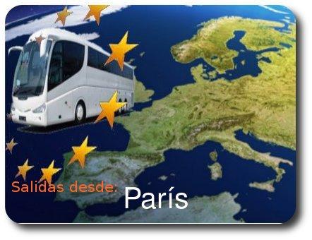 Circuitos con salidas desde Paris