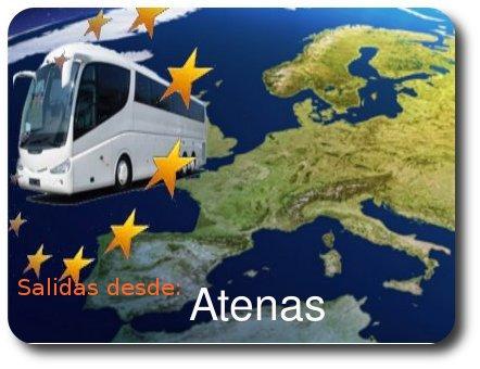 Circuitos con salidas desde Atenas
