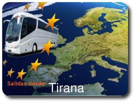 Circuitos con salidas desde TIRANA