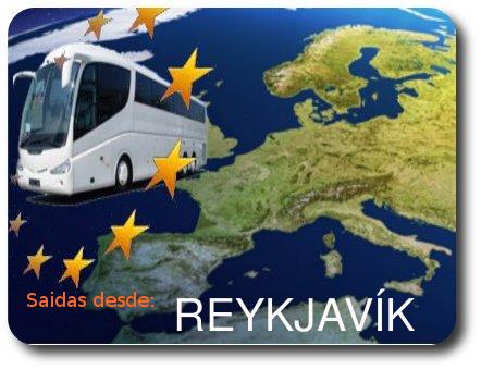 Ofertas de Viaje en Autocar con salidas de REYKJAVIK