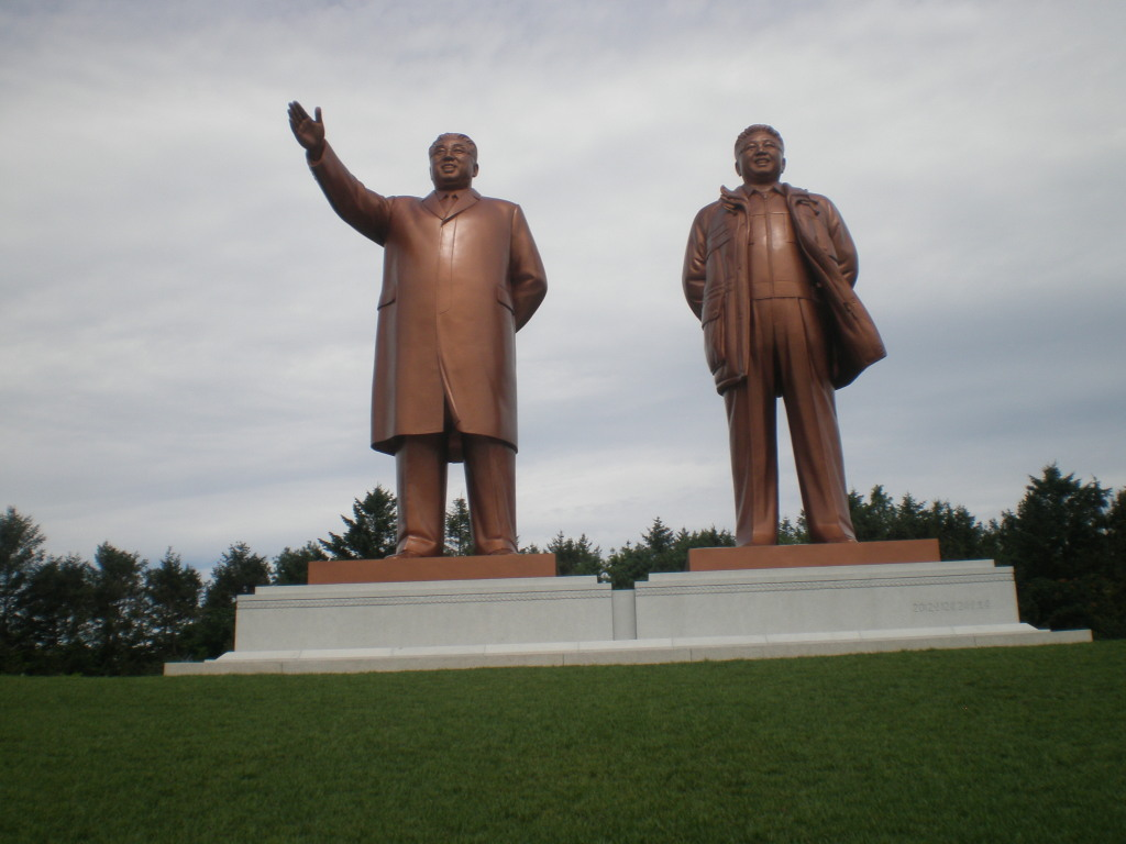Estatuas en honor a los líderes de Corea del Norte