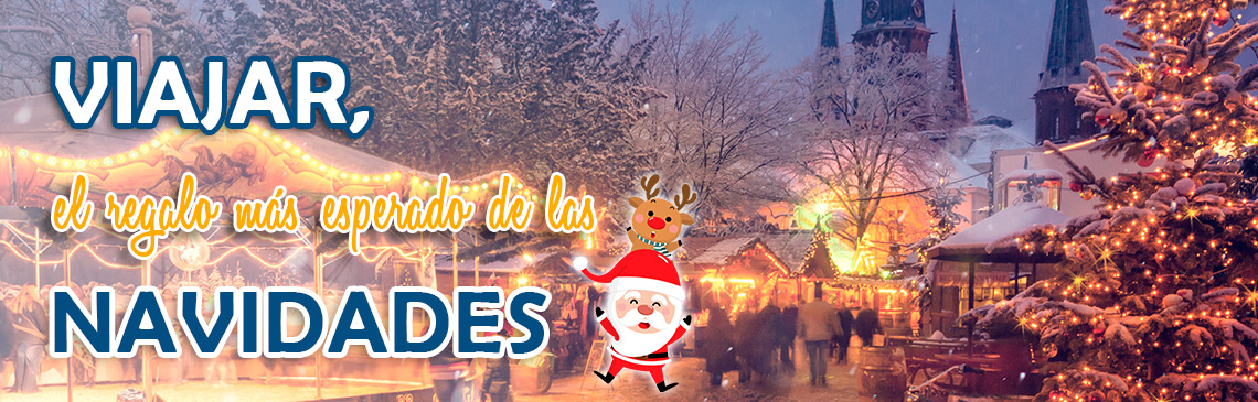 VIAJAR REGALO NAVIDADES