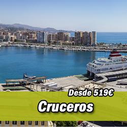 Cruceros baratos desde Málaga