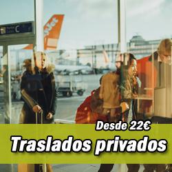 Traslados privados en el Aeropuerto de Málaga
