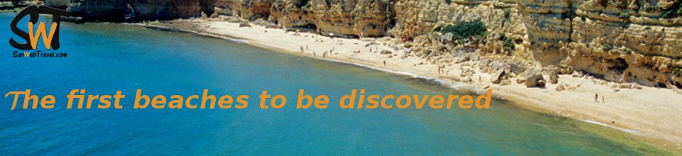 The first beaches to be discovered