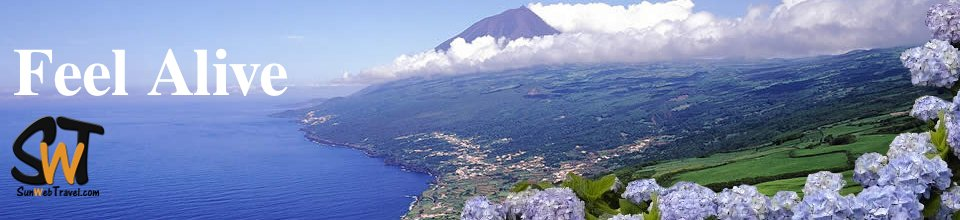 Travel to Azores & feel  alive