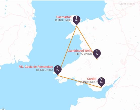 Descubre Gales a tu aire