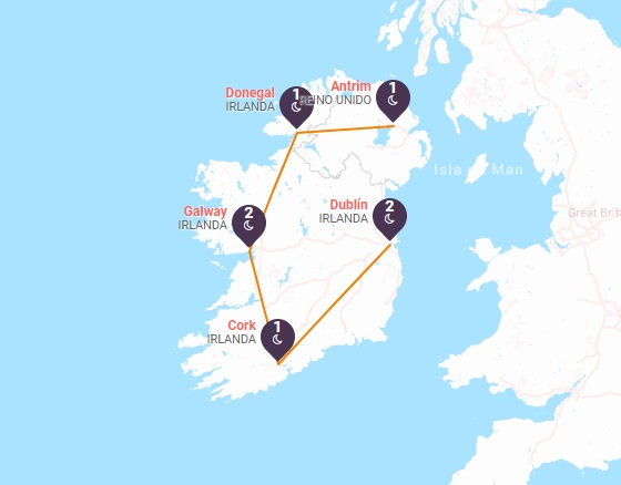 Cautivadora Irlanda
