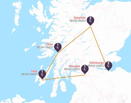 Ruta del Whisky Escocés
