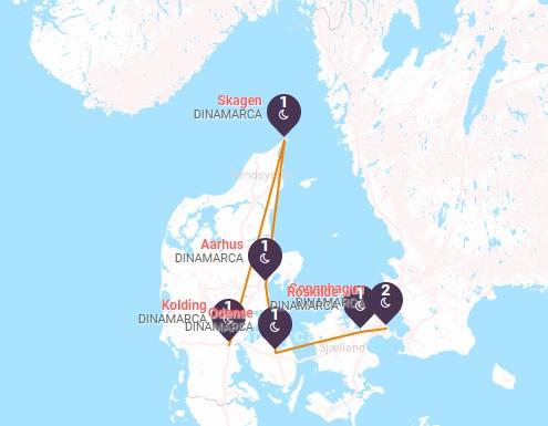 Dinamarca: Castillos y Jutlandia