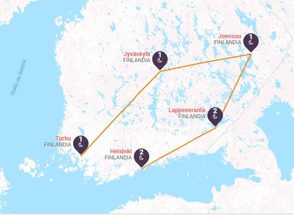 Lagos y Bosques de Finlandia