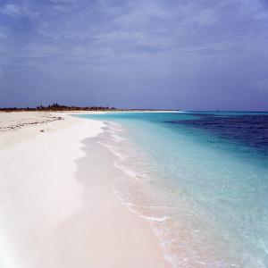 Praia em Cuba