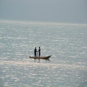 Praia em São Tomé e Principe