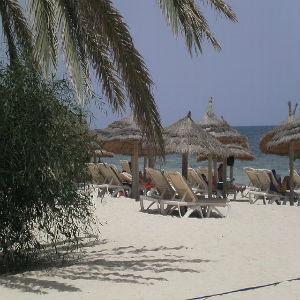 Praia na Tunisia