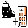 tren y hotel