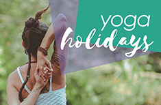 Vacaciones diferentes con yoga
