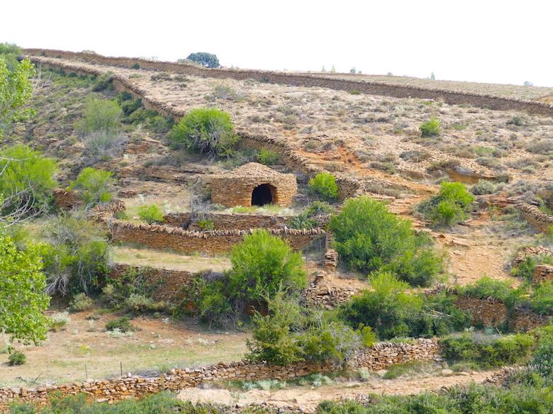 Torruco y paredes de piedra seca