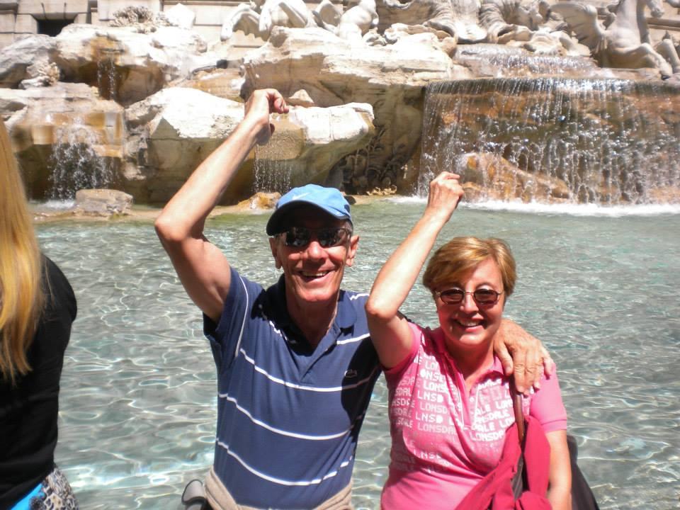 Nuestros Viajeros en Roma