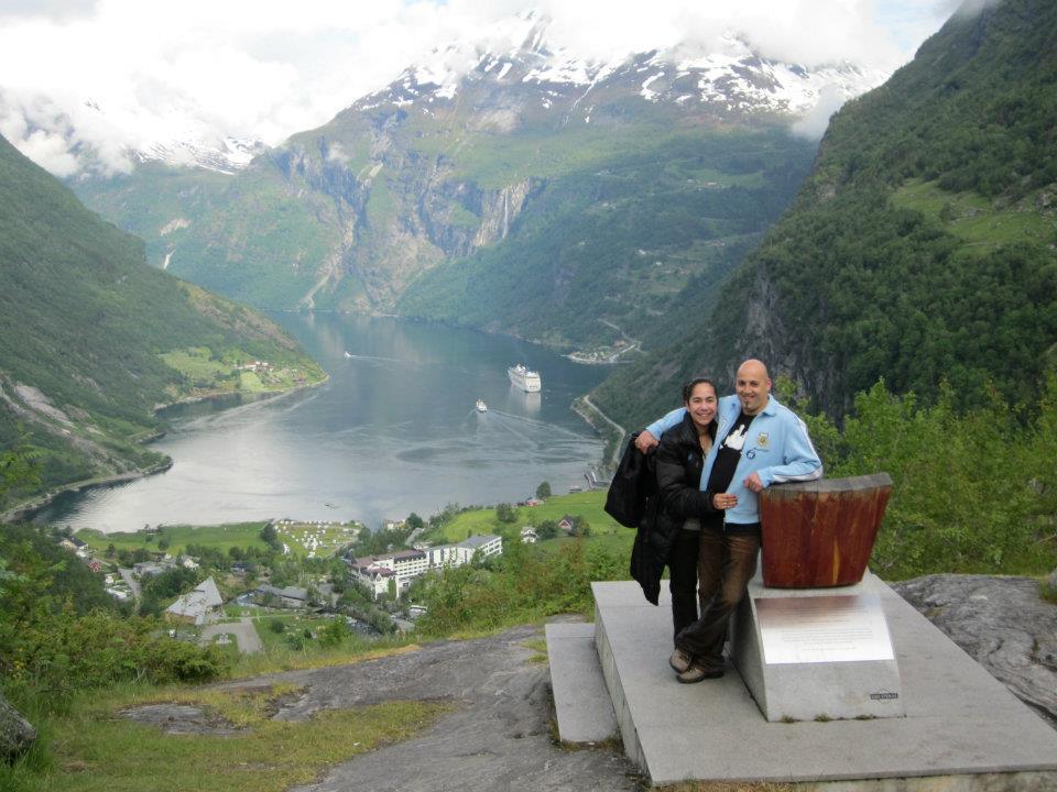 Nuestros Viajeros en los Fiordos Noruegos