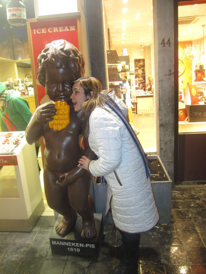 Nuestros Viajeros en Bruselas