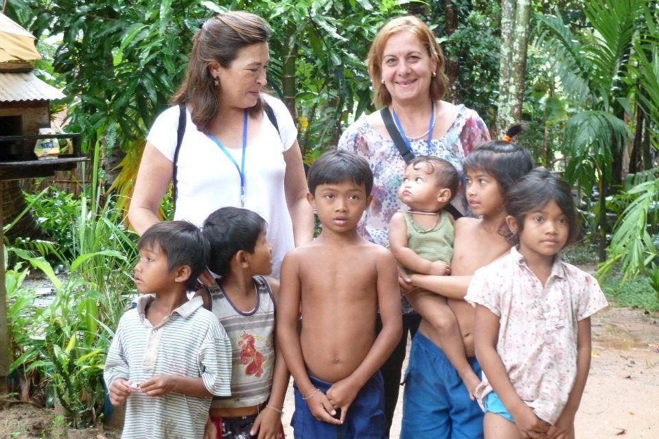 Nuestros Viajeros en Camboya