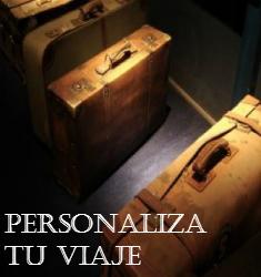 Personaliza tu Viaje