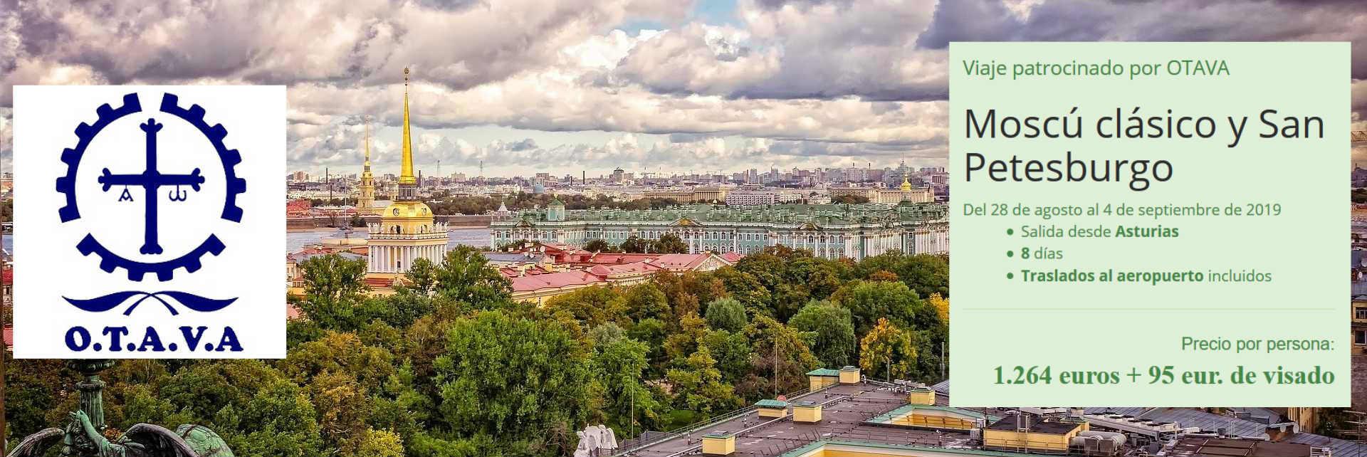 Moscú y San Petesburgo