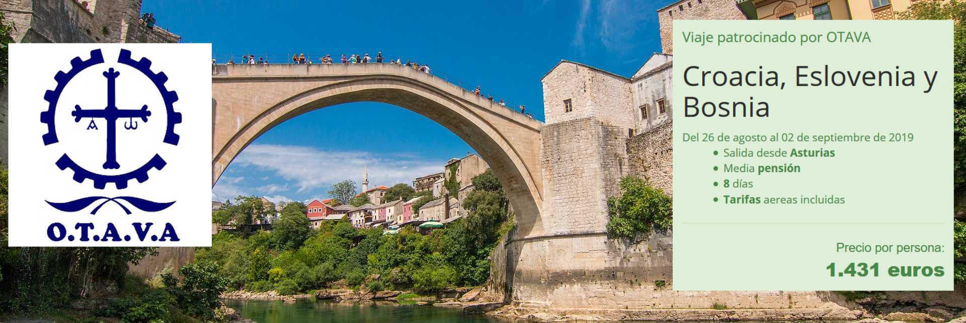 Croacia Eslovenia y Bosnia