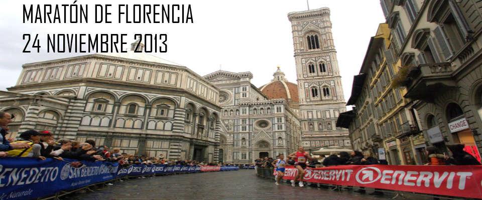 Viaje al Maratón de Florencia 2013