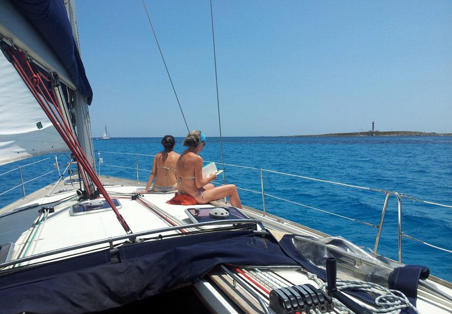 Crucero en velero privado