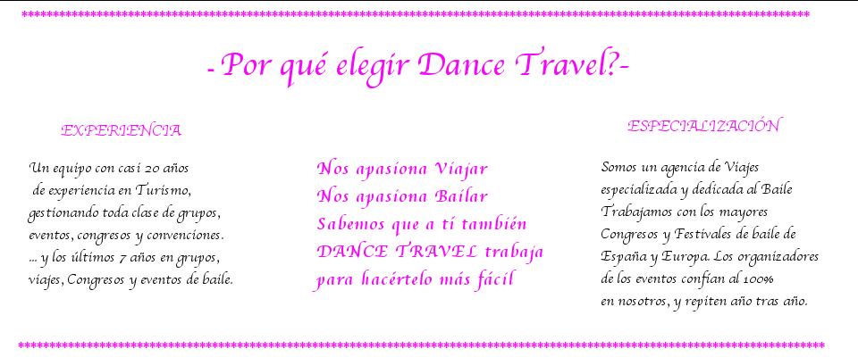 Por que Dance Travel