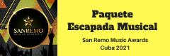 Paquete 7 días con toda la música del festival San Remo Habana 2021