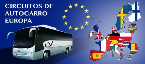 PROMOÇOES DE ROTEIROS EM ONIBUS POR EUROPA