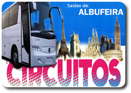 Circuitos com saida de ALBUFEIRA